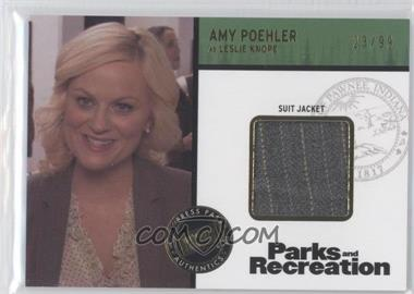 2013 Press Pass Parks and Recreation Seasons 1-4 Relics Gold #R2-AP - [Missing] /99