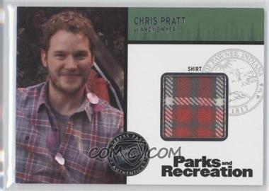2013 Press Pass Parks and Recreation Seasons 1-4 Relics #R-CP - [Missing]