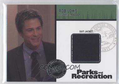 2013 Press Pass Parks and Recreation Seasons 1-4 Relics #R-RL - Rob Lowe as Chris Traeger