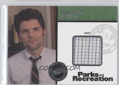 2013 Press Pass Parks and Recreation Seasons 1-4 Relics #R1-R-AS - [Missing]