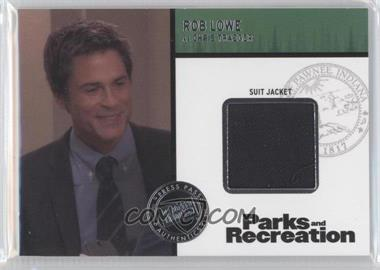 2013 Press Pass Parks and Recreation Seasons 1-4 Relics #R1-R-RL - [Missing]