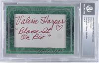 Valerie Harper /4 [BGSAUTHENTIC]