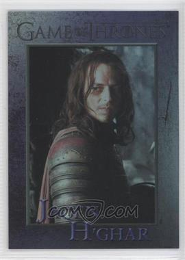 2013 Rittenhouse Game of Thrones Season 2 - [Base] - Foil #44 - H'ghar