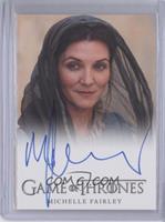Michelle Fairley as Lady Catelyn Stark