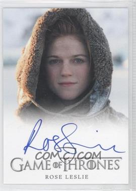 2013 Rittenhouse Game of Thrones Season 2 - Full-Bleed Autographs #ROLE - Rose Leslie as Ygritte
