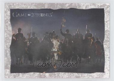 2013 Rittenhouse Game of Thrones Season 2 - Original Storyboard Concepts #SB19 - Season 2, Episode 09 - Blackwater