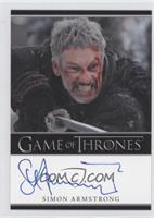 Simon Armstrong as Qhorin Halfhand