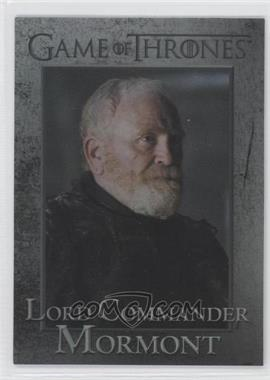 2013 Rittenhouse Game of Thrones Season 2 Foil #58 - Lord Commander Mormont