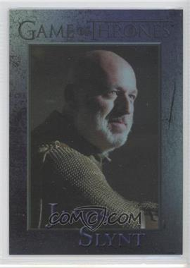 2013 Rittenhouse Game of Thrones Season 2 Foil #72 - Janos Slynt