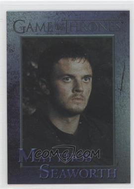 2013 Rittenhouse Game of Thrones Season 2 Foil #77 - Matthos Seaworth