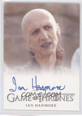 2013 Rittenhouse Game of Thrones Season 2 Full-Bleed Autographs #IAHE - Ian Hanmore as Pyat Pree