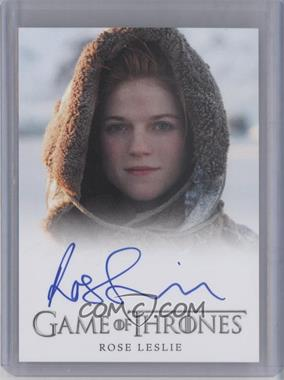 2013 Rittenhouse Game of Thrones Season 2 Full-Bleed Autographs #ROLE - Rose Leslie as Ygritte