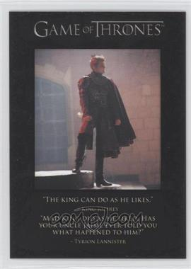 2013 Rittenhouse Game of Thrones Season 2 The Quotable Game of Thrones #Q12 - King Joffrey, Tyrion Lannister, Ser Jaime Lannister