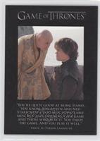 Varys, Tyrion Lannister