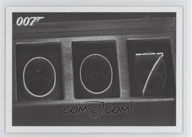 2013 Rittenhouse James Bond: Artifacts & Relics Goldfinger Throwbacks #104 - Goldfinger's atomic device...