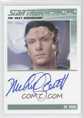 2013 Rittenhouse Star Trek The Next Generation: Heroes & Villains - Autographs #MICO - Michael Corbett as Dr. Rabal