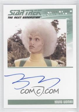 2013 Rittenhouse Star Trek The Next Generation: Heroes & Villains - Autographs #TRDA - Tracey D'Arcy as Young Woman