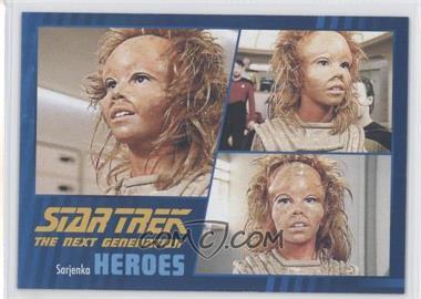 2013 Rittenhouse Star Trek The Next Generation: Heroes & Villains - [Base] #36 - Sarjenka