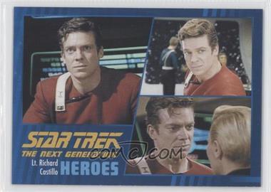 2013 Rittenhouse Star Trek The Next Generation: Heroes & Villains - [Base] #37 - Lt. Richard Castillo