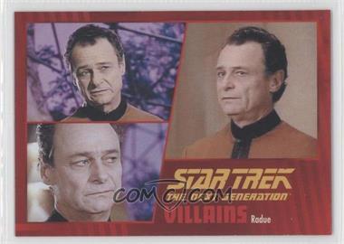 2013 Rittenhouse Star Trek The Next Generation: Heroes & Villains - [Base] #99 - Radue