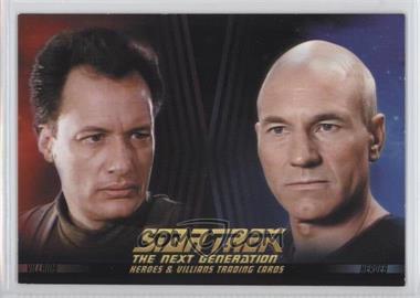 2013 Rittenhouse Star Trek The Next Generation: Heroes & Villains - Promos #P1 - Q, Captain Jean-Luc Picard