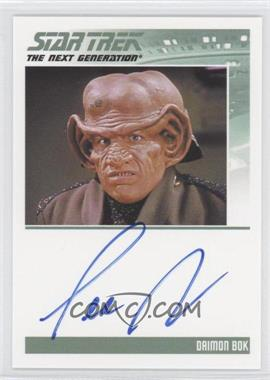 2013 Rittenhouse Star Trek The Next Generation: Heroes & Villains Autographs #LEAR - Lee Arenberg, Daimon Bok