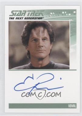 2013 Rittenhouse Star Trek The Next Generation: Heroes & Villains Autographs #NoN - Eric Pierpoint, Voval