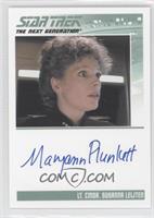 Maryann Plunkett, Lt. Commander Susanna Leijten
