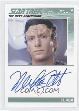 2013 Rittenhouse Star Trek The Next Generation: Heroes & Villains Autographs #NoN - Michael Corbett as Dr. Rabal