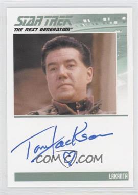 2013 Rittenhouse Star Trek The Next Generation: Heroes & Villains Autographs #NoN - Tom Jackson, Lakanta