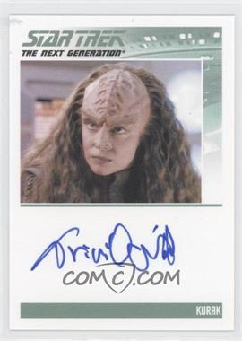 2013 Rittenhouse Star Trek The Next Generation: Heroes & Villains Autographs #TRON - Tricia O'neil, Kurak