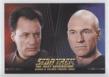 2013 Rittenhouse Star Trek The Next Generation: Heroes & Villains Promos #P1 - [Missing]
