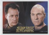 Q, Captain Jean-Luc Picard