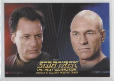 2013 Rittenhouse Star Trek The Next Generation: Heroes & Villains Promos #P1 - Q, Captain Jean-Luc Picard