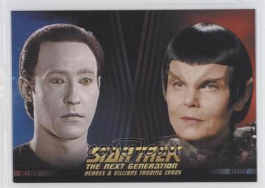 2013 Rittenhouse Star Trek The Next Generation: Heroes & Villains Promos #P2 - Lt. Commander Data, Romulan