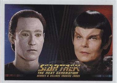 2013 Rittenhouse Star Trek The Next Generation: Heroes & Villains Promos #P2 - Lt. Commander Data, Romulan