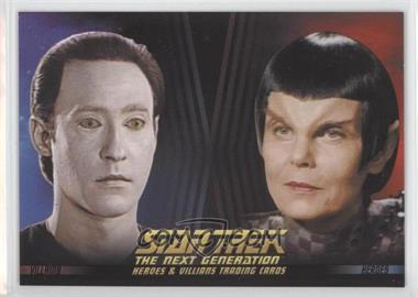 2013 Rittenhouse Star Trek The Next Generation: Heroes & Villains Promos #P2 - [Missing]