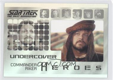 2013 Rittenhouse Star Trek The Next Generation: Heroes & Villains Undercover Heroes #H7 - [Missing]