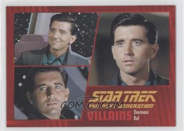 2013 Rittenhouse Star Trek The Next Generation: Heroes & Villains #98 - Devinoni Ral