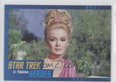 2013 Rittenhouse Star Trek The Original Series: Heroes & Villians - [Base] - Cardboard #48 - Lt. Palamas