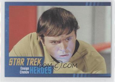 2013 Rittenhouse Star Trek The Original Series: Heroes & Villians - [Base] - Cardboard #7 - Ensign Chekov
