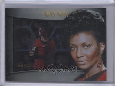 2013 Rittenhouse Star Trek The Original Series: Heroes & Villians - Bridge Crew Shadowbox #S5 - Nichelle Nichols, Uhura (as Uhura)