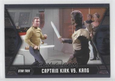 2013 Rittenhouse Star Trek The Original Series: Heroes & Villians - Kirk's Epic Battles #GB6 - Captain Kirk vs. Kang