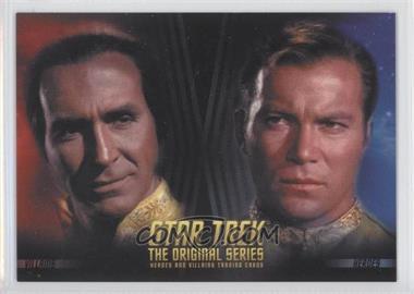 2013 Rittenhouse Star Trek The Original Series: Heroes & Villians - Promos #P1 - Khan, Captain Kirk