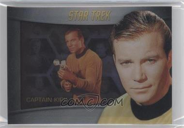 2013 Rittenhouse Star Trek The Original Series: Heroes & Villians Bridge Crew Shadowbox #S1 - William Shatner (as Captain Kirk)
