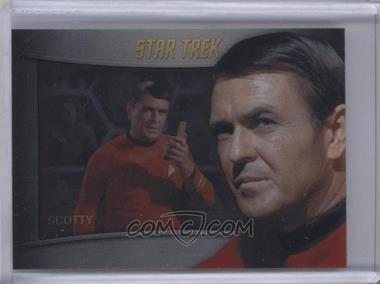 2013 Rittenhouse Star Trek The Original Series: Heroes & Villians Bridge Crew Shadowbox #S4 - James Doohan, Chief Engineer Scott (as Chief Engineer Scott)