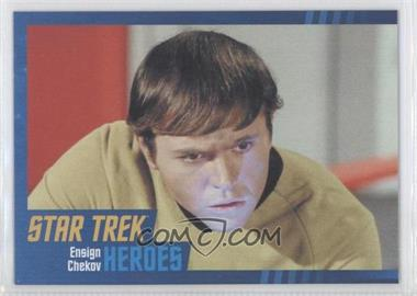 2013 Rittenhouse Star Trek The Original Series: Heroes & Villians Cardboard #7 - Ensign Chekov