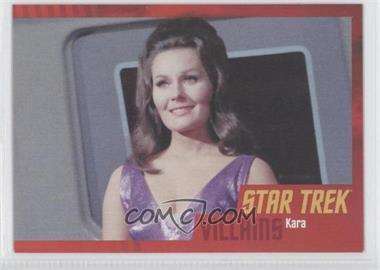 2013 Rittenhouse Star Trek The Original Series: Heroes & Villians Cardboard #79 - Kara