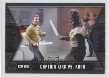 2013 Rittenhouse Star Trek The Original Series: Heroes & Villians Kirk's Epic Battles #GB6 - Captain Kirk vs. Kang