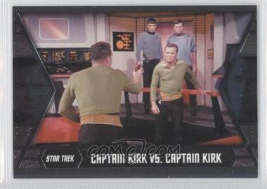 2013 Rittenhouse Star Trek The Original Series: Heroes & Villians Kirk's Epic Battles #GB9 - Captain Kirk vs. Captain Kirk